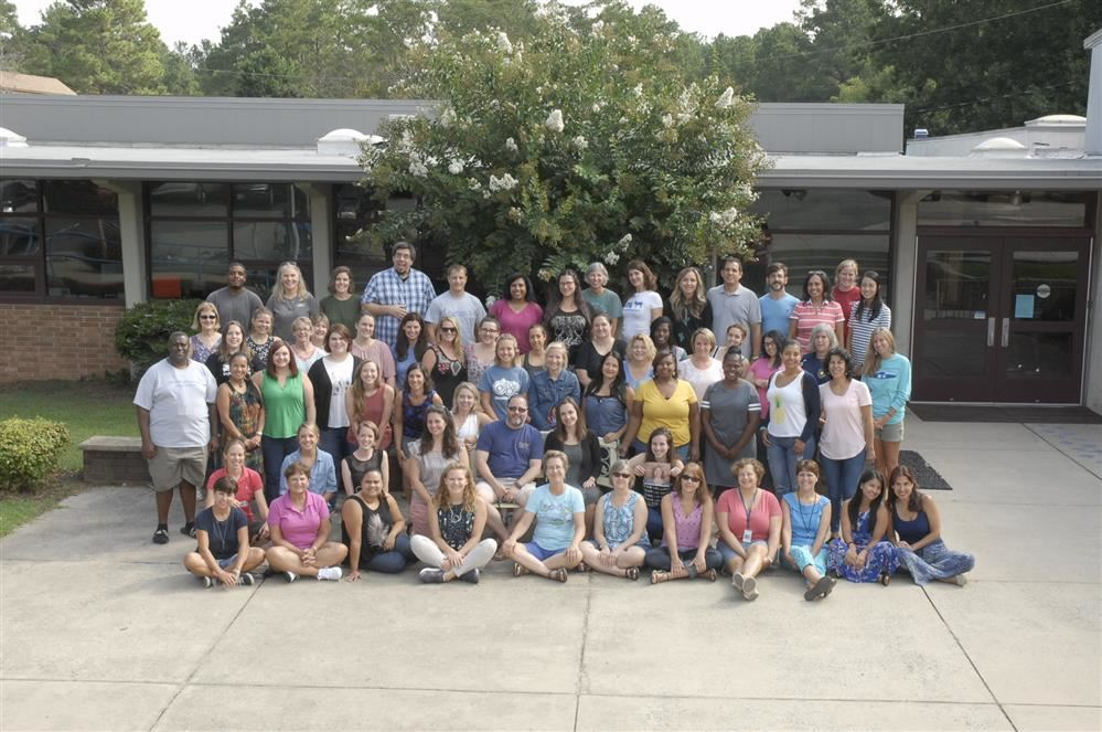 Carrboro Elementary Staff Photo