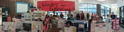 2017 Wonders and Explorations Student Showcase participants