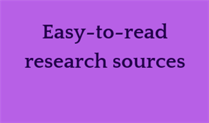 Easy research sources