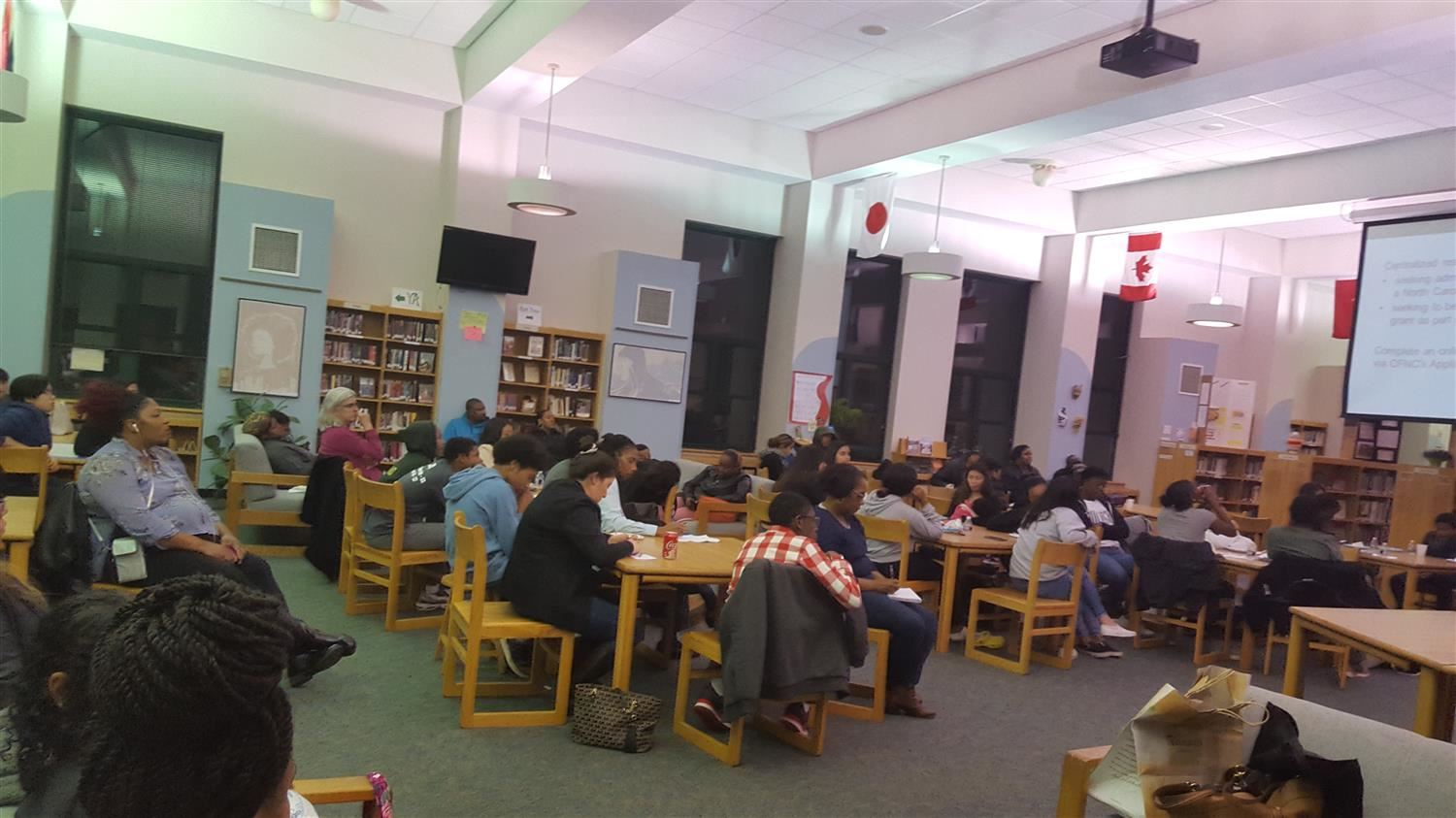 AVID FAFSA session at East