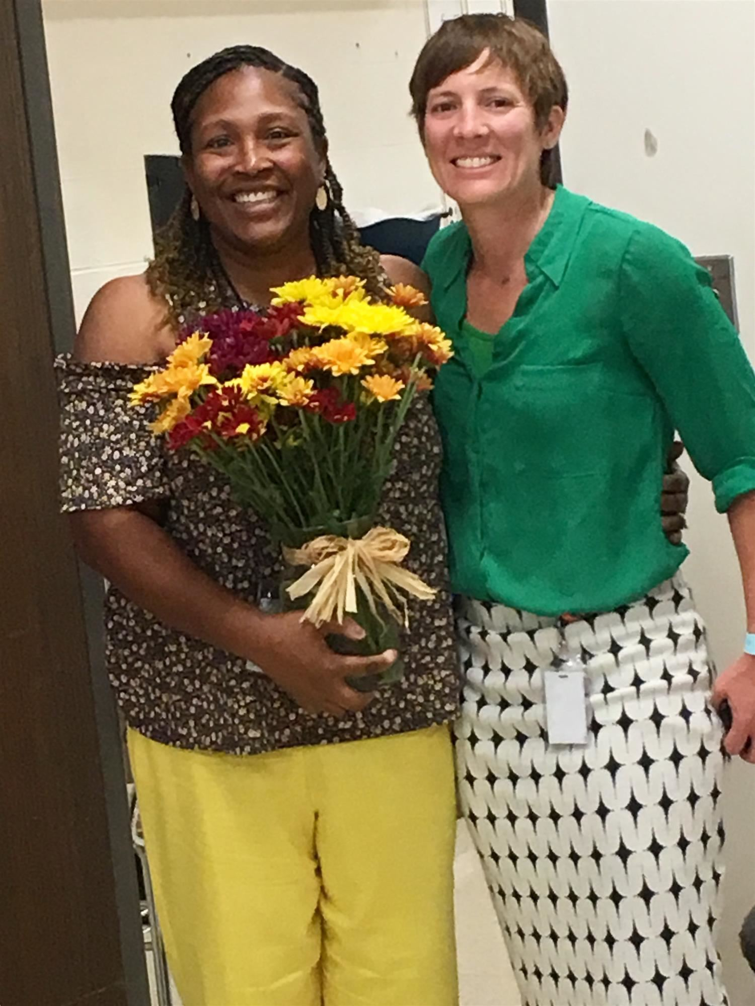 EC Educator of Excellence Kanu and Lessley
