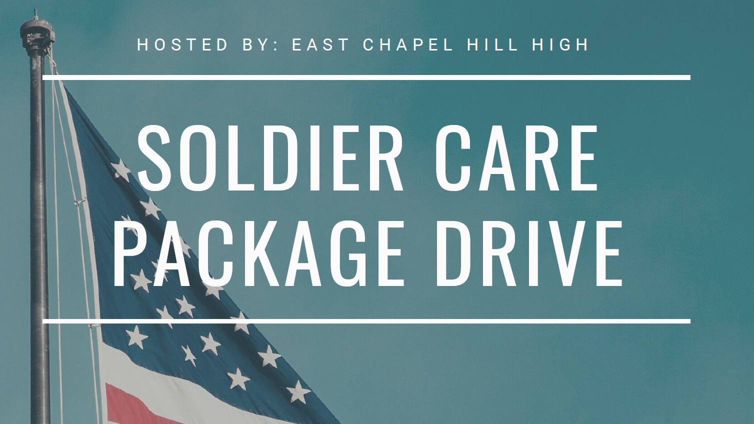 Soldier Care Package Drive